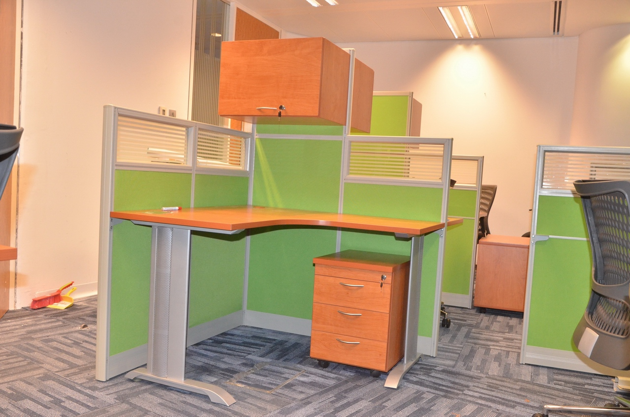 Pangea open plan workstations by sagtco office furniture for Furniture uae