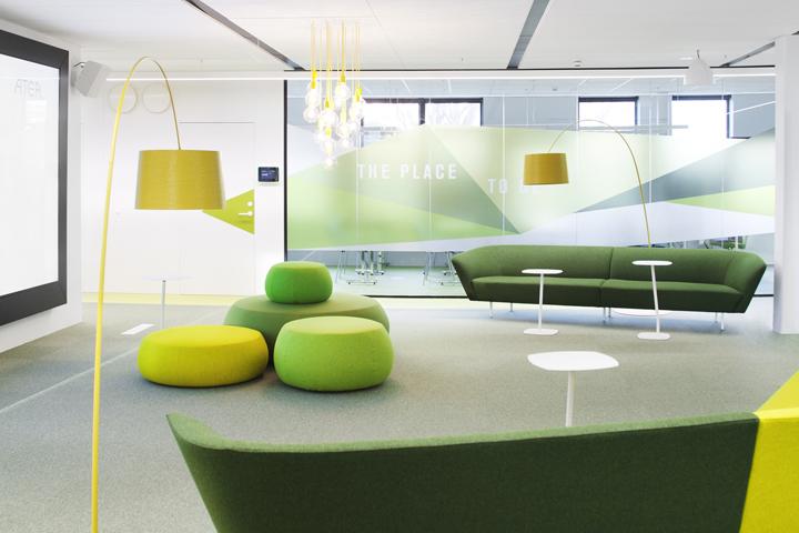 Atea office by Monica Stavem Design, Fredrikstad – Norway