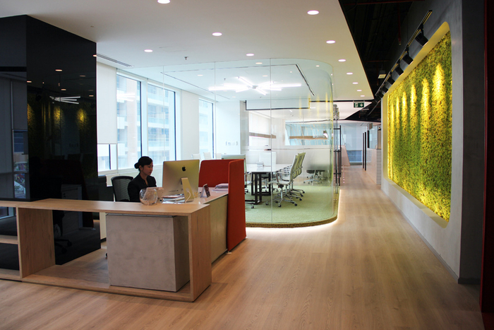 Swiss bureau interior design ezelink telecom offices u dubai