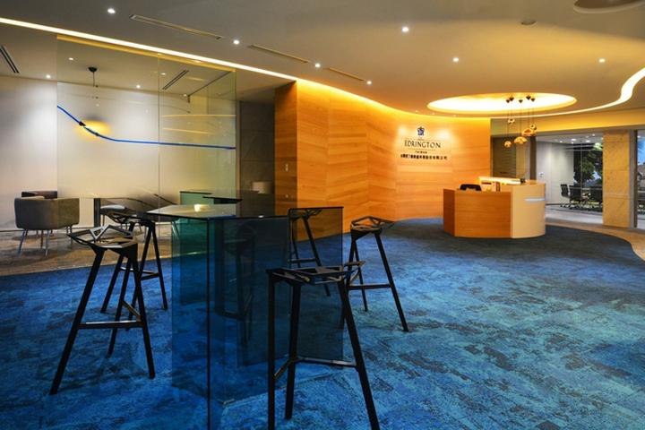 The Edrington Group Offices by SL+A Taiwan, Taipei – Taiwan